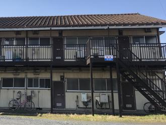 築年数が経ったアパート