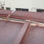 釘の抜けによる屋根材の浮き
