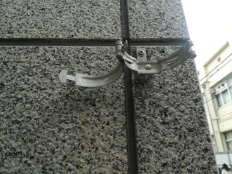雨樋の留め具「掴み」