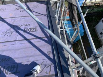 木更津市 ケラバ板金の設置完了