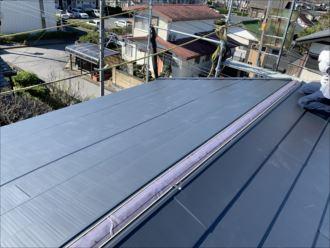木更津市 新規屋根材の設置