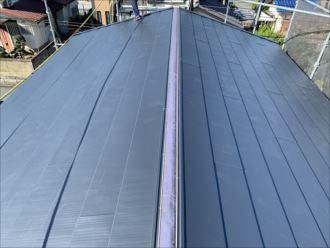 木更津市 新規屋根材設置完了
