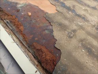 木更津市 屋根下地の傷み