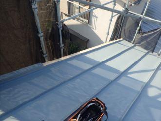 木更津市 屋根材の設置