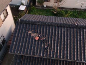 君津市 屋根の被害状況