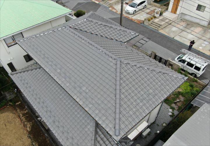 君津市 屋根復旧工事の竣工