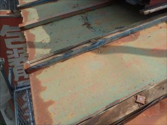 木更津市 屋根面のボルト