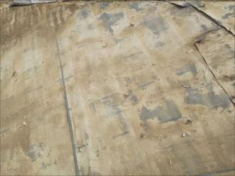 君津市 防水紙の劣化