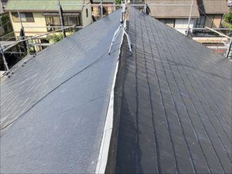 木更津市 新規屋根張り完了