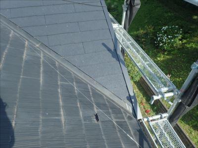 木更津市八幡台で令和元年東日本台風で被害を受けた屋根を、屋根葺き替え工事を行いました、施工後写真