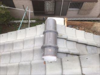 木更津市 新規冠瓦の取付け