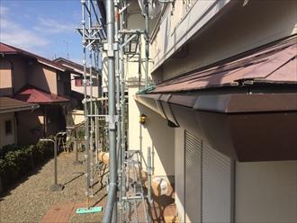君津市 雨樋の設置