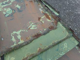 木更津市 屋根材の傷み