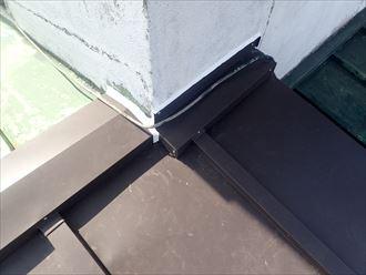 木更津市 壁際コーキング処置