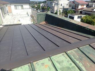 木更津市 屋根材の取付け完了