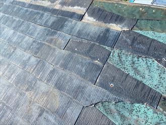 富津市 屋根の被害状況