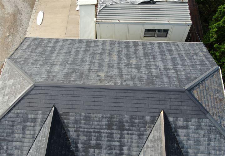 富津市 屋根葺き工事完了