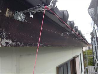 木更津市 新規樋吊り金具の設置