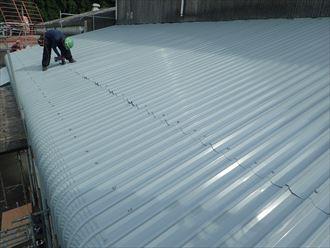 佐倉市 屋根補強作業完了