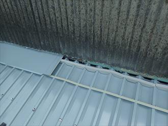 佐倉市 雨押えの設置