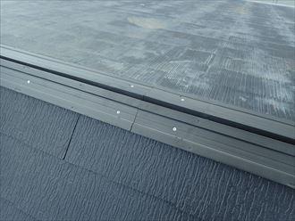 富津市 貫板の固定