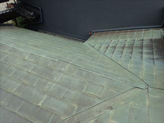 木更津市 銅板の屋根