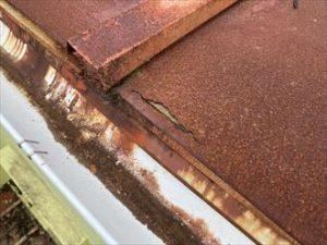 屋根の劣化