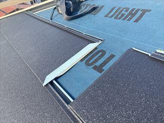 スーパーガルテクトによる屋根カバー工法