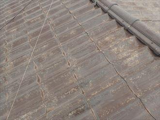 木更津市 屋根の損傷状況