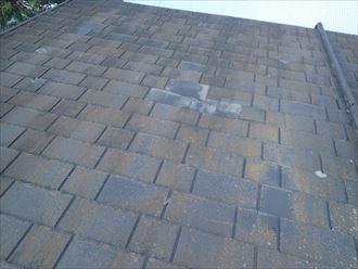 木更津市 屋根材の剥がれ