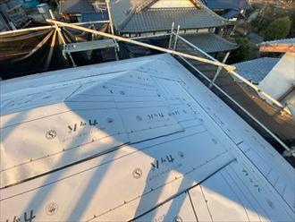 東金市 新規防水紙の設置