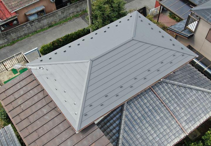 東金市 屋根葺き替え工事完了