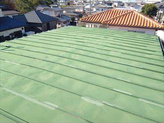 木更津市大久保で劣化した瓦棒屋根を、カバー工事で今後の雨漏り対策、施工前写真