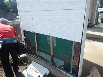 木更津市 外壁の取り外し