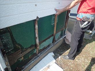 木更津市 外壁撤去