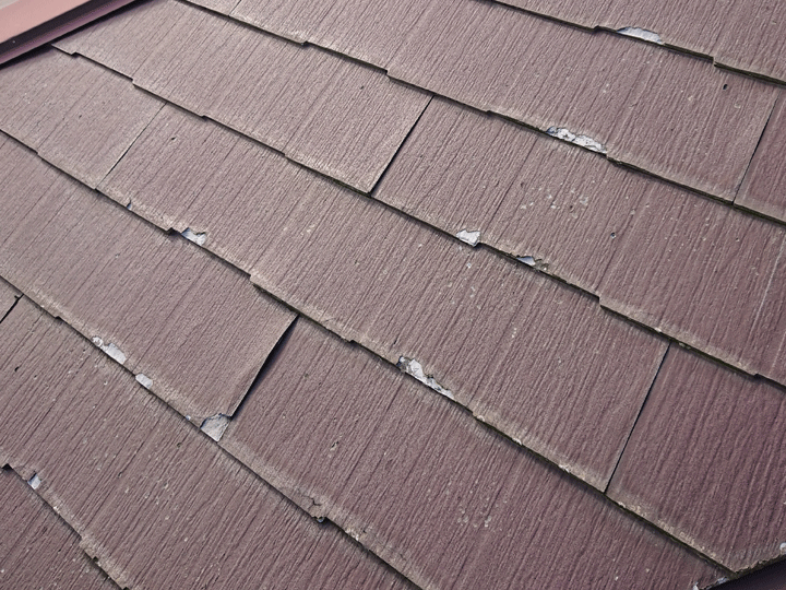 屋根材はパミール
