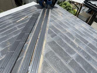 樹脂製貫板使用