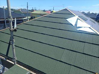 東金市 屋根材の設置状況