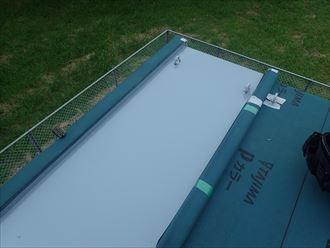 旭市 屋根材の設置