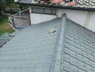 茂原市 屋根の被害状況確認